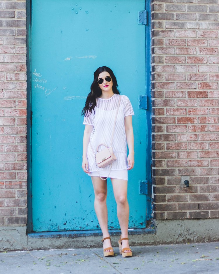 White Mesh Dress Love My Fiance Hate Being Engaged Esther Santer