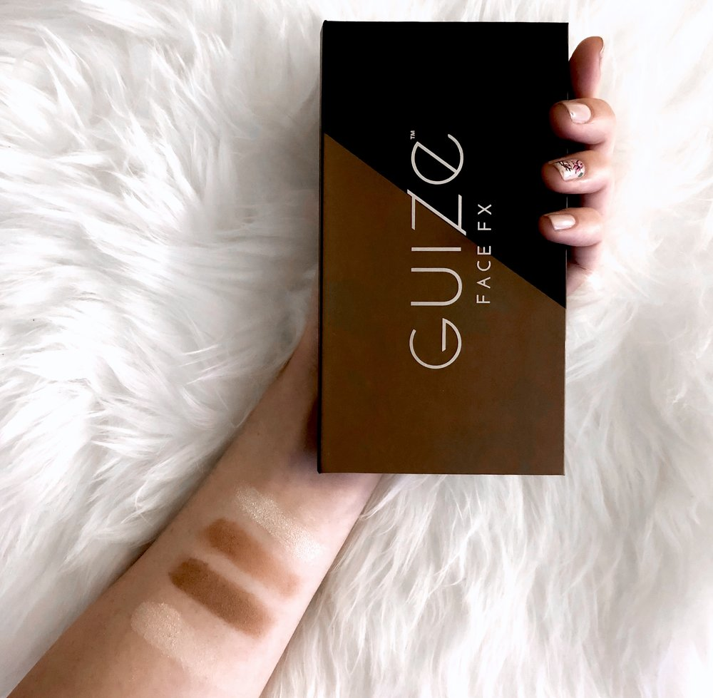 Guize Face FX Contour Palette Review Esther Santer Fashion Blog NYC Street Style Blogger Outfit OOTD Trendy Makeup Beauty Product Bronzer Highlighter Powder Brush Shopping Value $40 Radiant Glow Skin Beautiful Shades Eye Shadow Brand Company  Collab.jpg