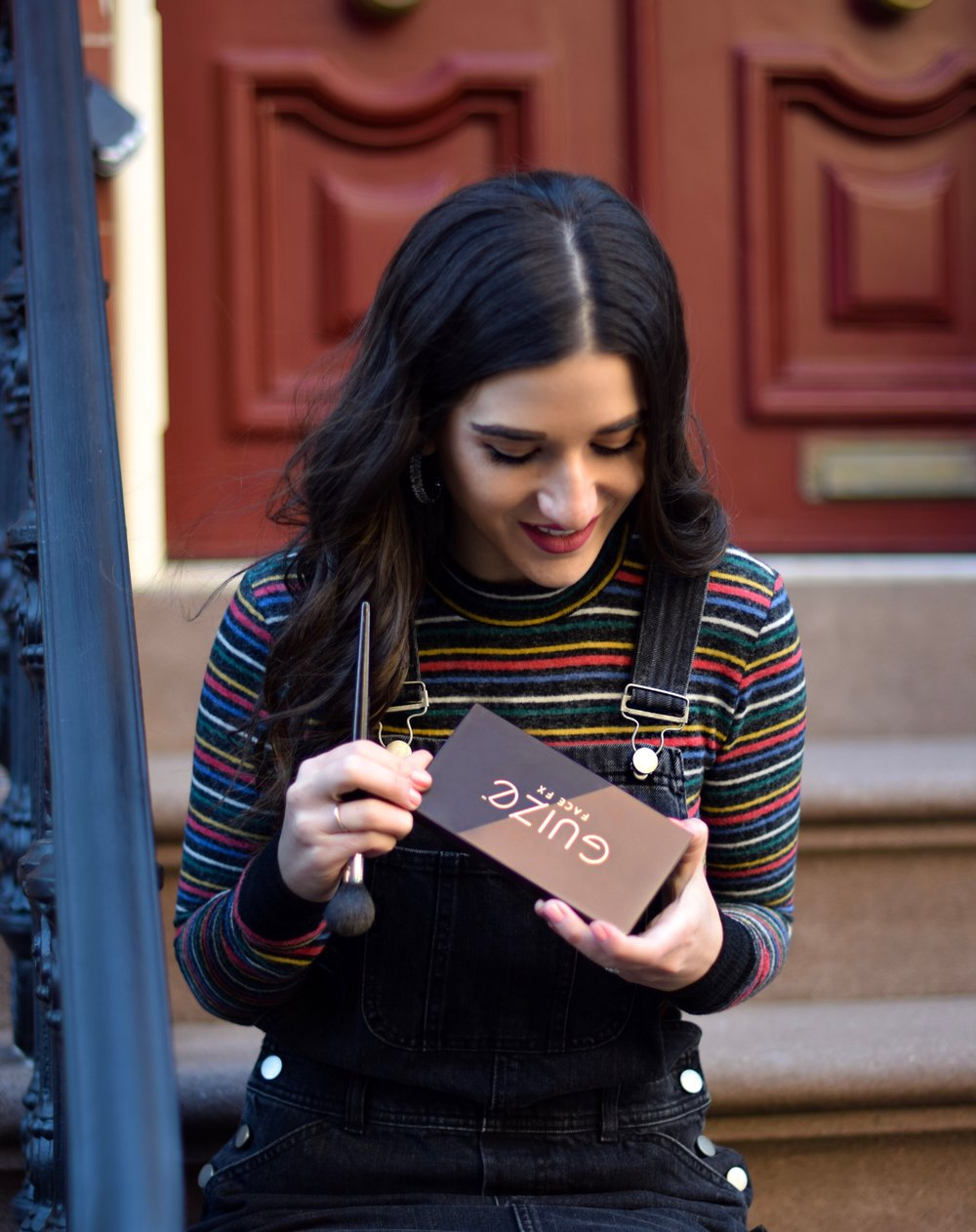 Guize Face FX Contour Palette Review Esther Santer Fashion Blog NYC Street Style Blogger Outfit OOTD Trendy Makeup Beauty Product Bronzer Highlighter Powder Brush Shopping Value $40 Radiant Glow Skin Beautiful Shades New York City Company Brand Collab.jpg