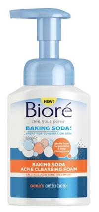Face Wash: Biore Baking Soda Cleansing Foam