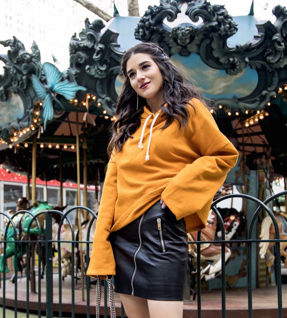 How+Blogging+Affected+My+Self+Confidence+Yellow+Sweatshirt+Black+Pleather+Skirt+Esther+Santer+Fashion+Blog+NYC+Street+Style+Blogger+Outfit+OOTD+Trendy+Zara+ASOS+Hairstyle+Sporty+Girly+Open+Toe+Booties++Shopping+Buy+Wear+Fall+Winter+Hood+Mustard+Color.jpg