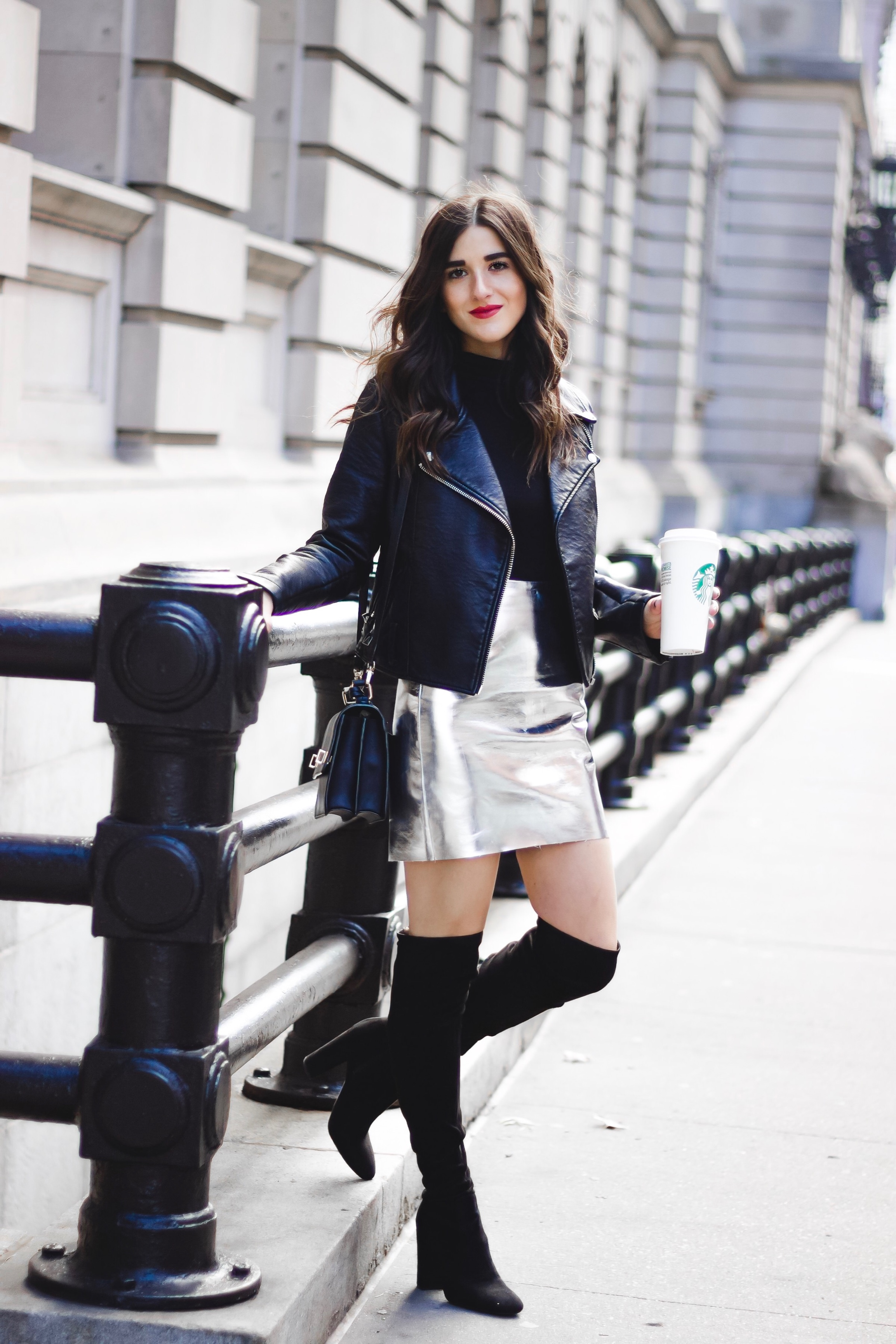 be46eb1570 Leather Mini Skirt And Boots
