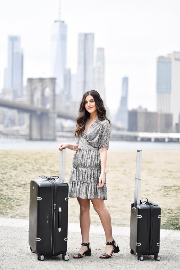 The Perfect Honeymoon Luggage Ricardo Beverly Hills Arris Collection Esther  Santer Fashion Blog NYC Street Style 7cc8fd4fd804b