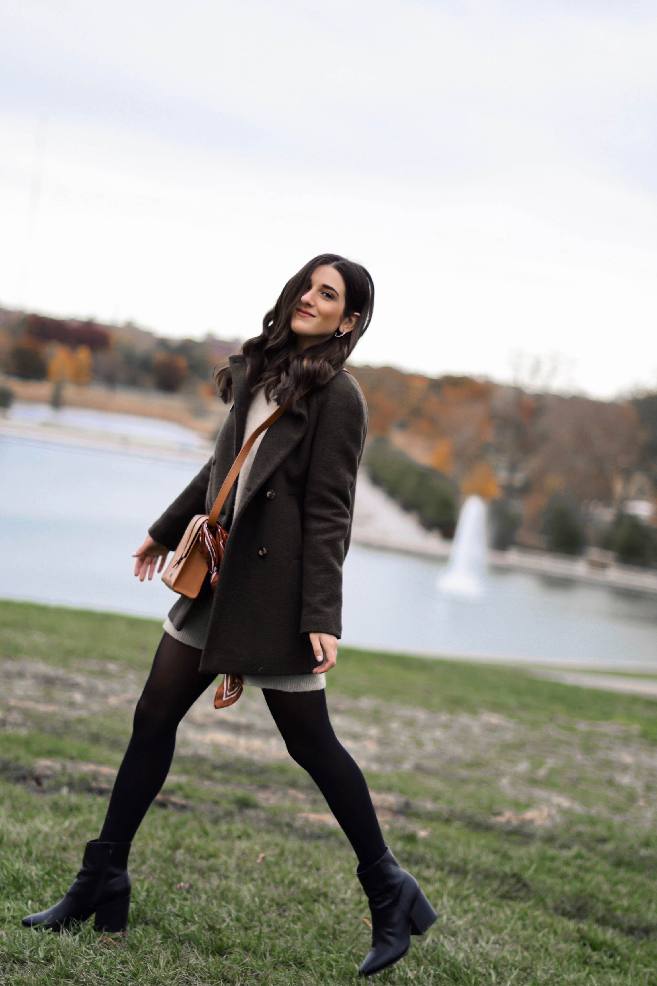 bbc33a357a08 How To Style Black Booties For Fall Madden Girl Esther Santer Fashion Blog  NYC Street Style