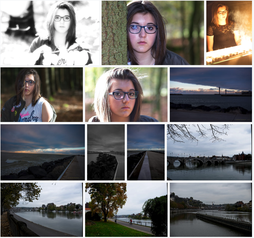 Galerie 500px - paysage et portraits