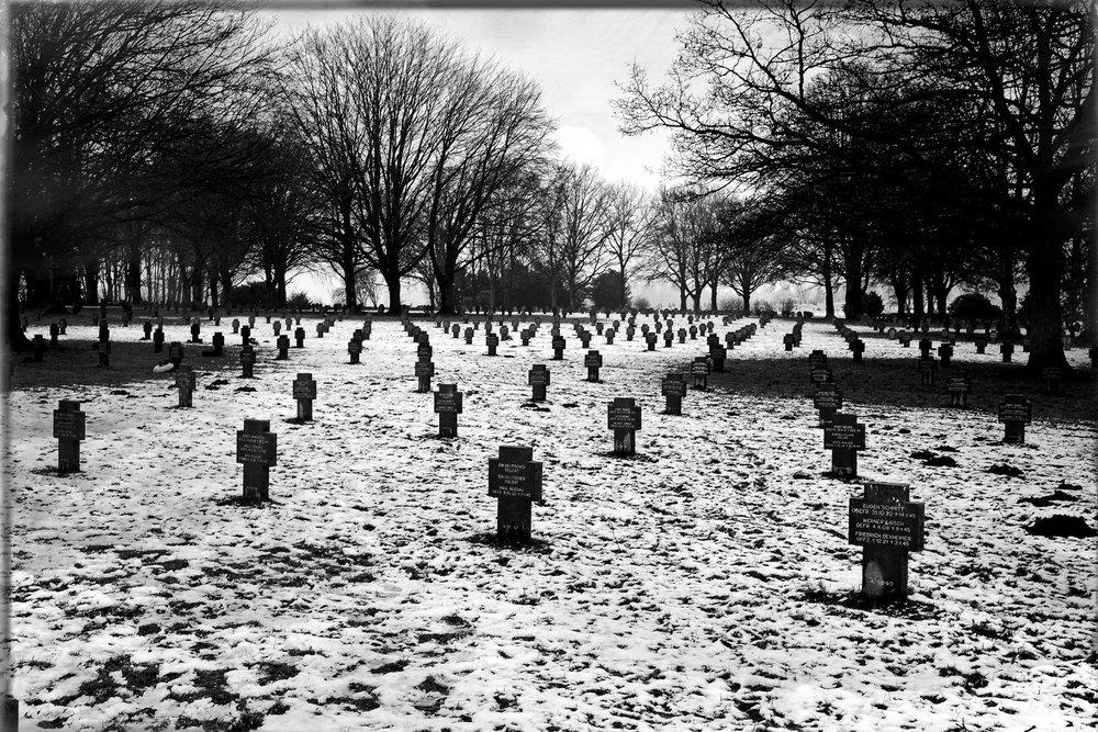 Le cimetière allemand à Foy