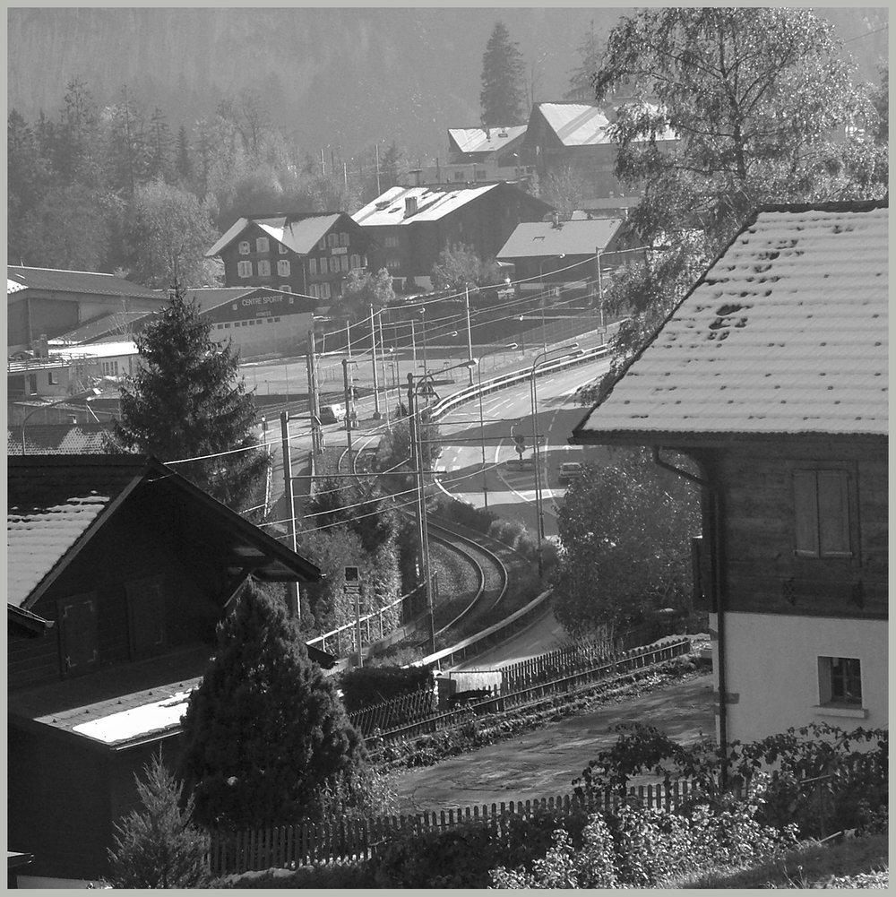 La ligne de train actuelle