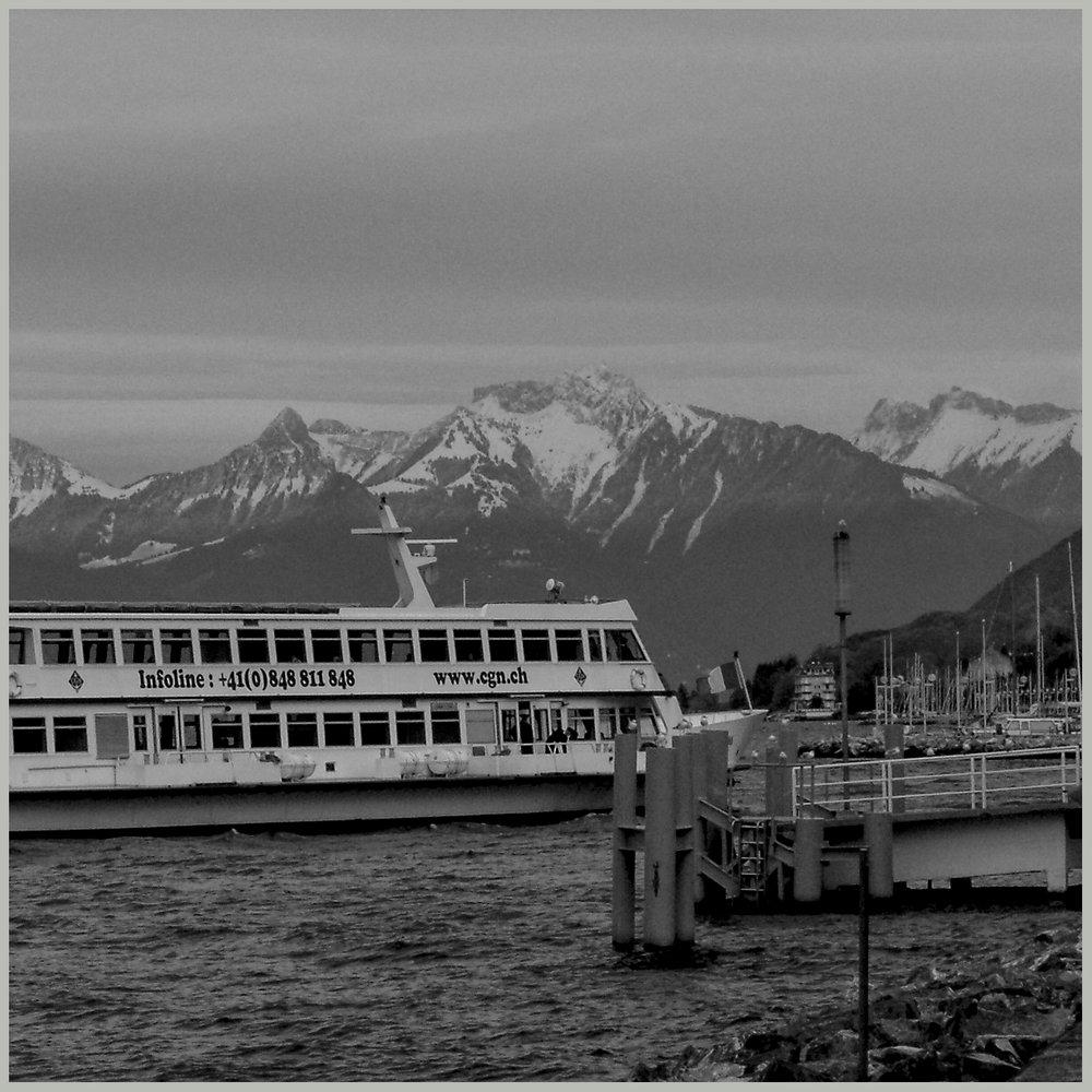 Un des bateaux touristiques du lac