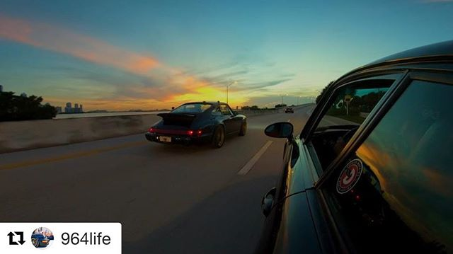 That was good fun. Great job capturing and editing that morning drive @964life .. #porsche993 #porsche #carsandcoffee #tunnelrun #miami  #porsche911 #Porschelove #euro #classicporsche #vintageporsche #drivetastefully #912 #porscheartdaily #porschelove #classicporsche #miami #art #luftgekühlt #germancars #german #porschecenter #aircooled #morning #flatfour #993 #carporn #964 #outlaw @porscheclubgcr #lightivory #miami #miamistyle #art