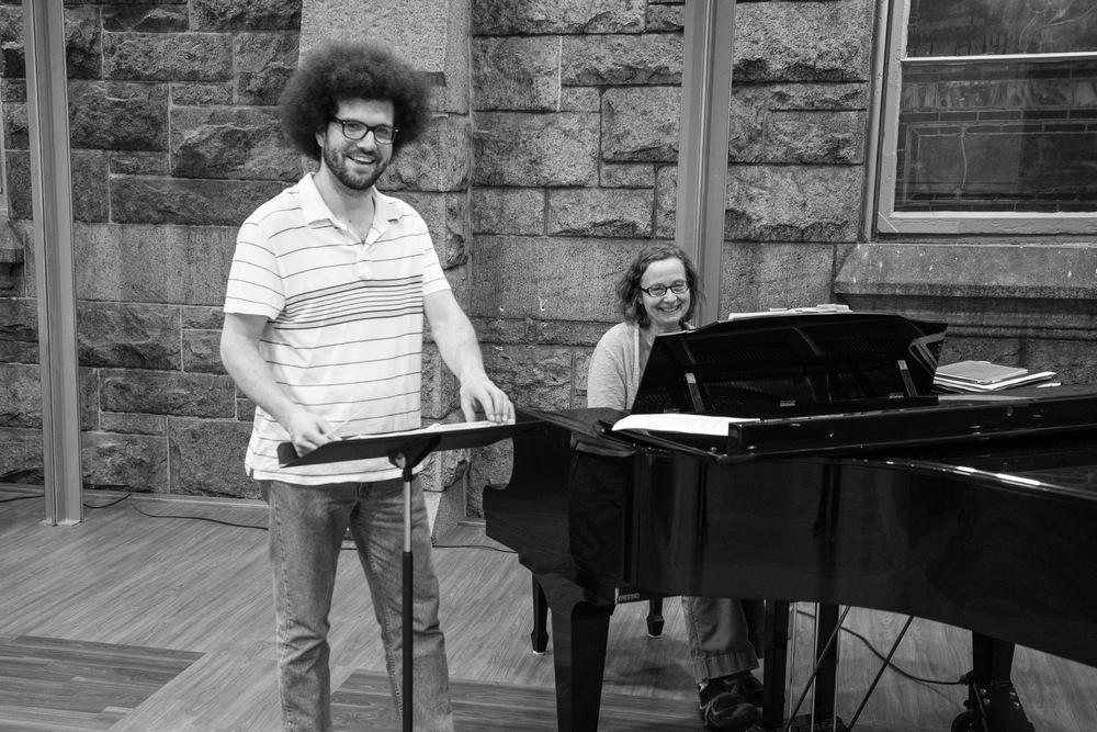 Grace & Holy Trinity rehearsal 2015, Photo Frank Reid