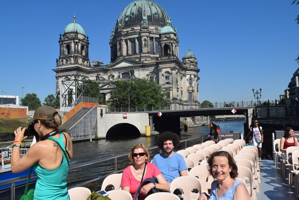 Berlin Spree River tour 2016