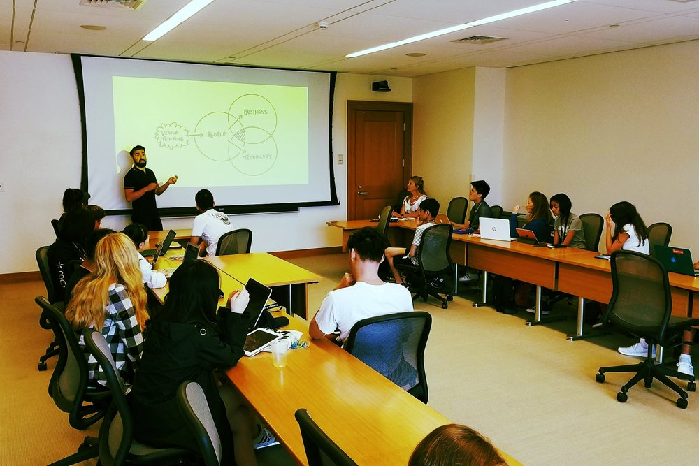 Design Thinking @ Harvard Law Campus (Adam Moulter, Guest Speaker)