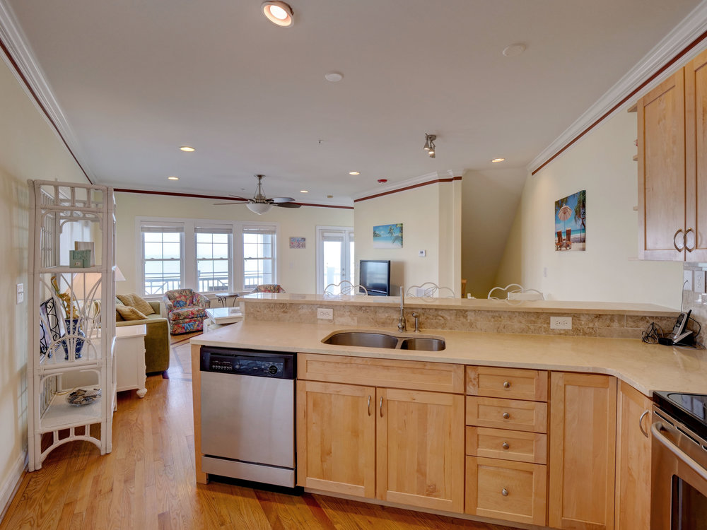 202 N Fort Fisher Blvd Unit 8-print-014-69-Kitchen view 2-3670x2751-300dpi.jpg