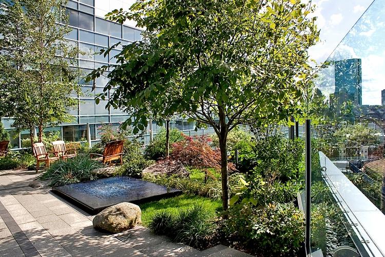 MGH Healing Garden at Yawkey Cancer Center — Halvorson Design
