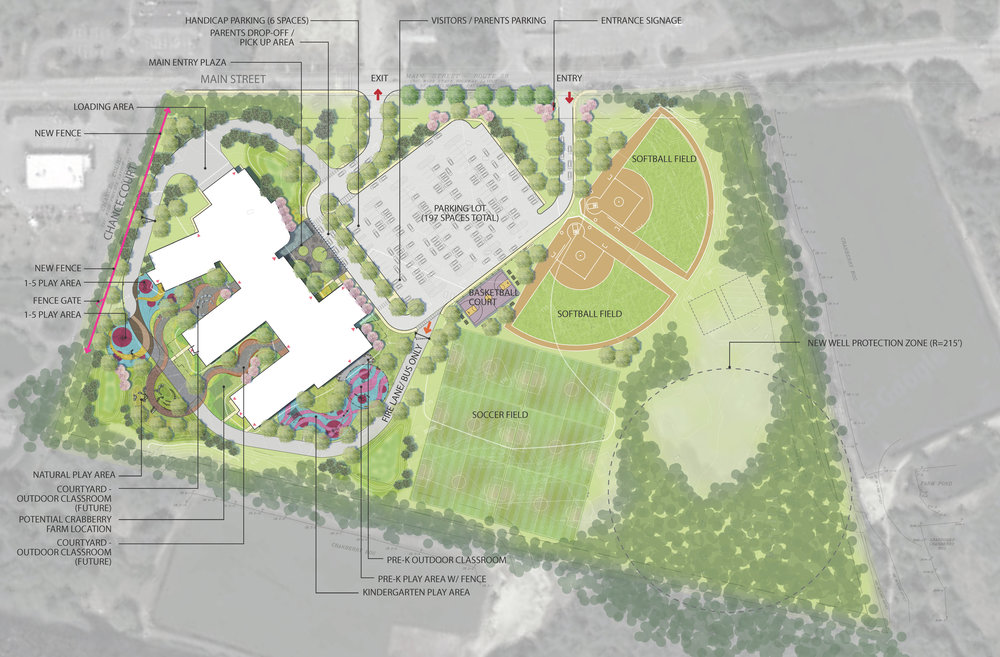 Carver Elementary School Site Plan