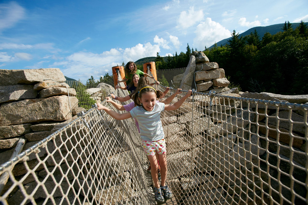 APPALACHIAN MOUNTAIN CLUB ADVENTURE PLAYSPACE