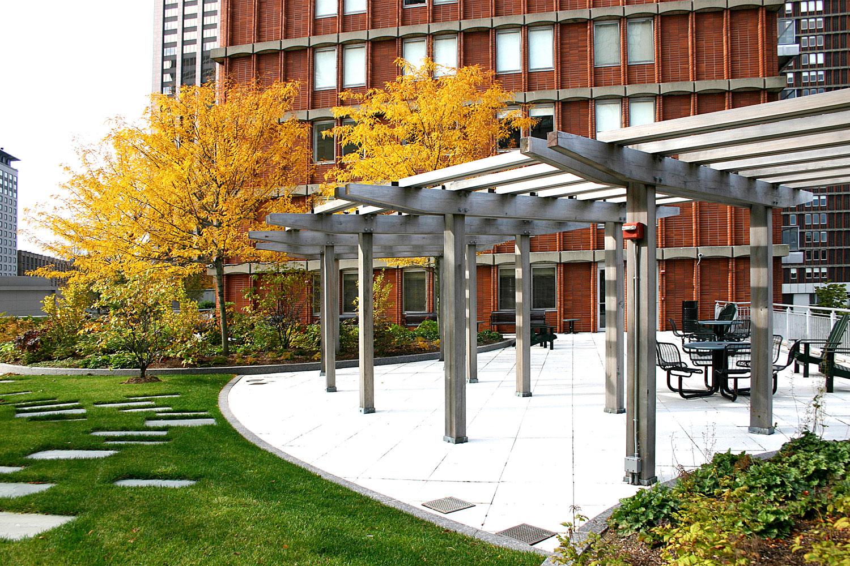 Prudential Center Roof Garden