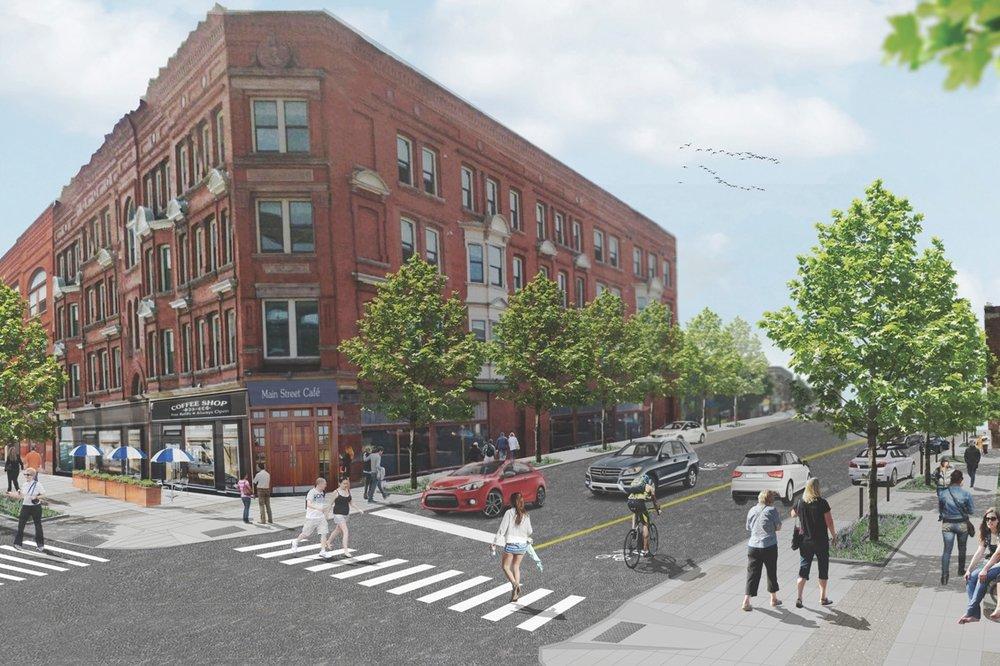 ALLEN STREET COMPLETE STREETS RECONSTRUCTION