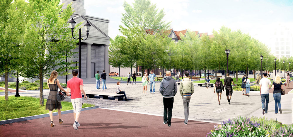 Construction Underway in Historic Quincy
