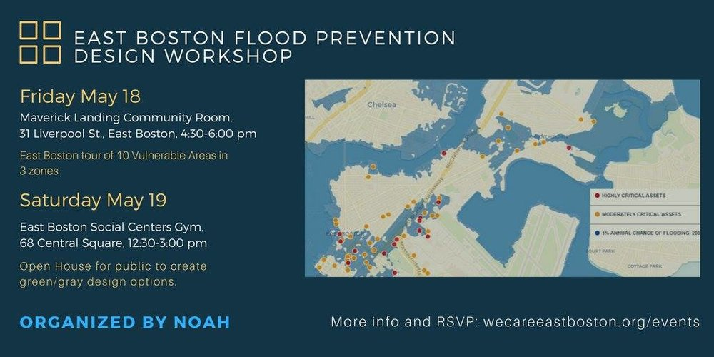 East Boston Flood Prevention Design Workshop (ULI Boston/New England and NOAH)