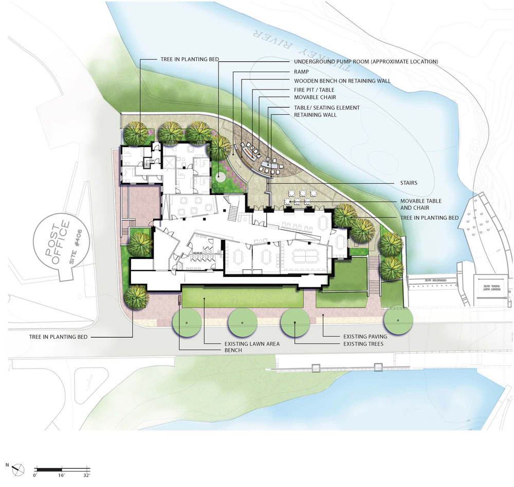 Friedman Community Center Site Plan