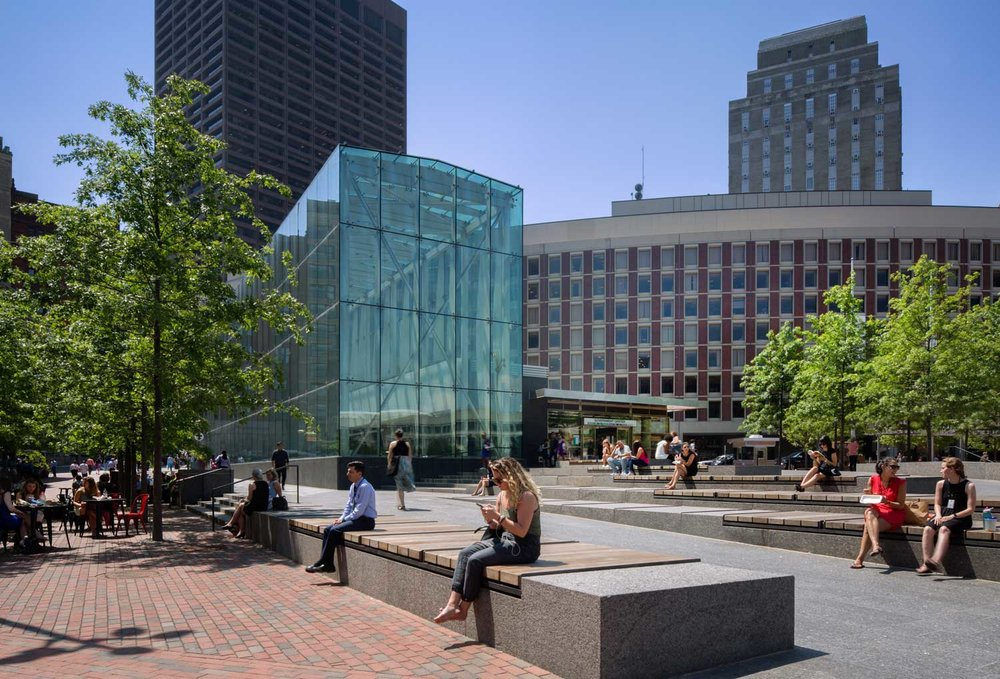 GOVERNMENT CENTER + CITY HALL PLAZA