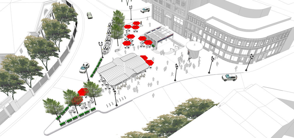 Harvard Square Plaza Programming - Daily Use (Halvorson Design)
