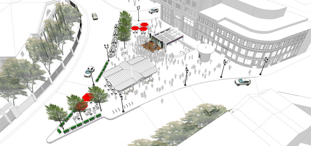 Harvard Square Plaza Programming - Performance (Halvorson Design)