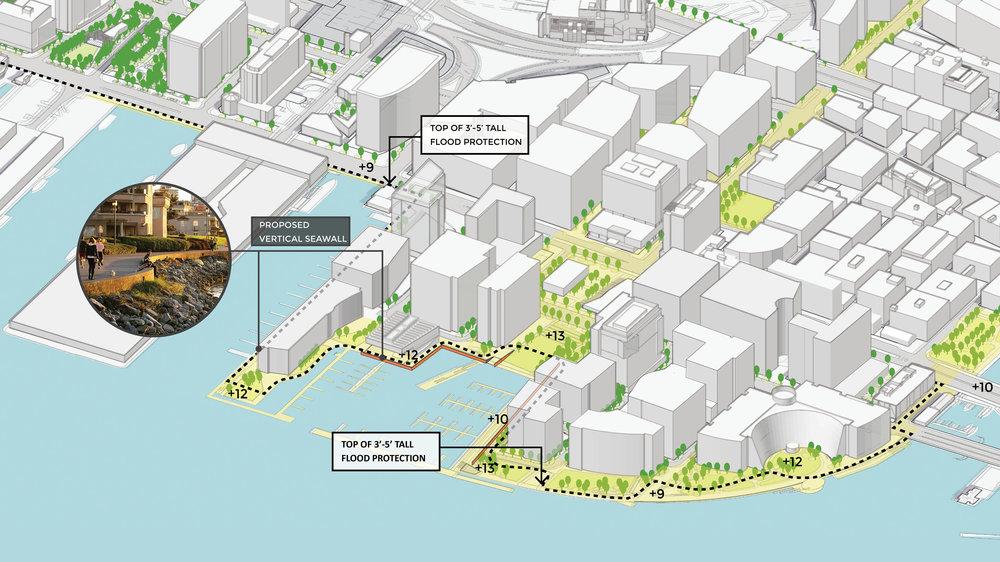 Climate Ready South Boston Fan Pier Design Prototypes Option A (Halvorson Design)