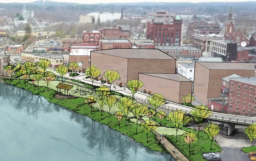 NASHUA DOWNTOWN RIVERFRONT PLANNING