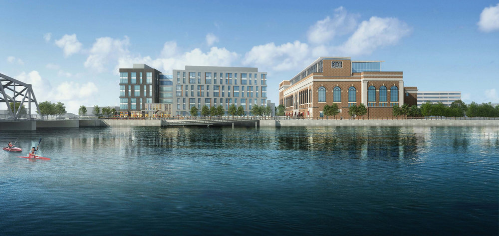 South Street Landing Waterfront Rendering (Spagnolo Gisness & Associates)