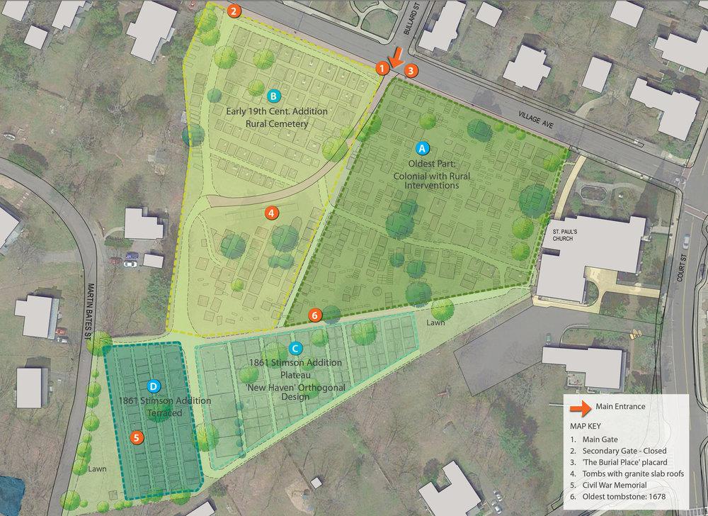 Old Village Cemetery Landscape Plan