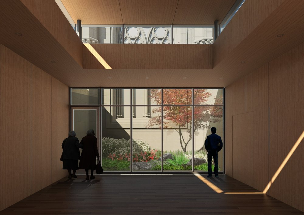 Rendering by William Rawn Associates/Halvorson Design Partnership