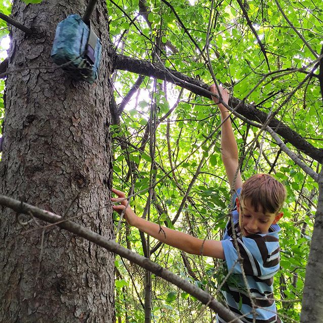 Spending another day geocaching in our neighborhood--up trees, under bridges, and at the water's edge. I think these boys are hooked. If you're new to geocaching, check out my recent post, A Beginner's Guide to Geocaching. (Link in profile) #urbanadventures #geocachingadventures #raisetheboys