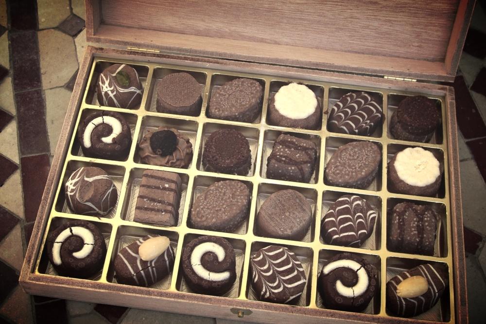 - Boîtes à tarte et de chocolats -