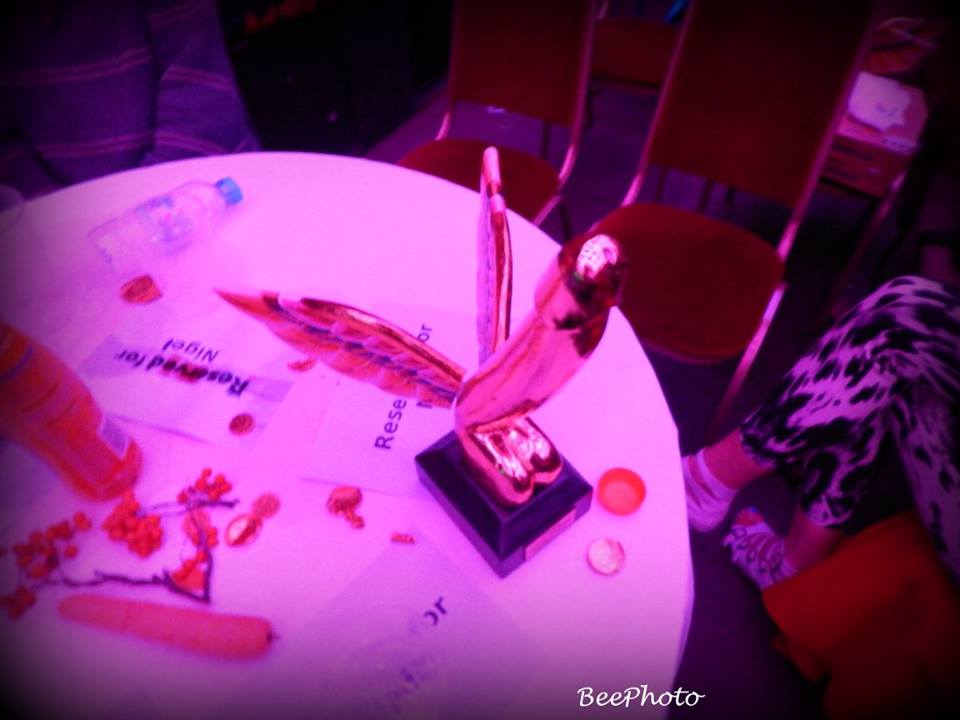 Sexual Freedom Awards trophy