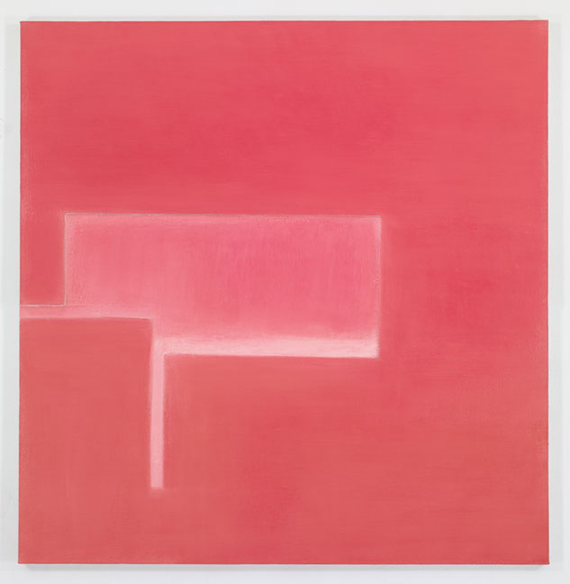 Fugue Minuit, 2011-12, oil on linen 76 x 74 in.