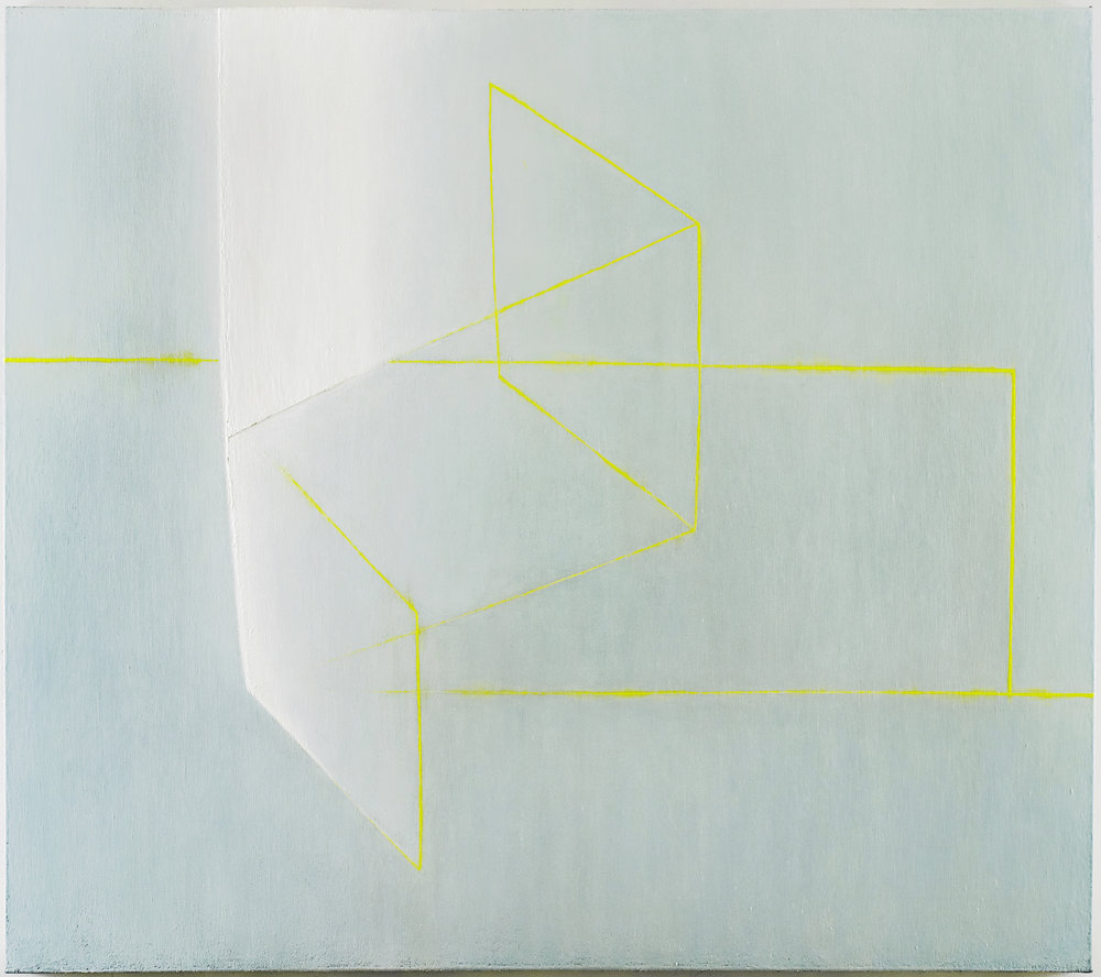 White Light, 2003-04 (Oil on linen, 65 x 74 in / 165 x 188 cm)