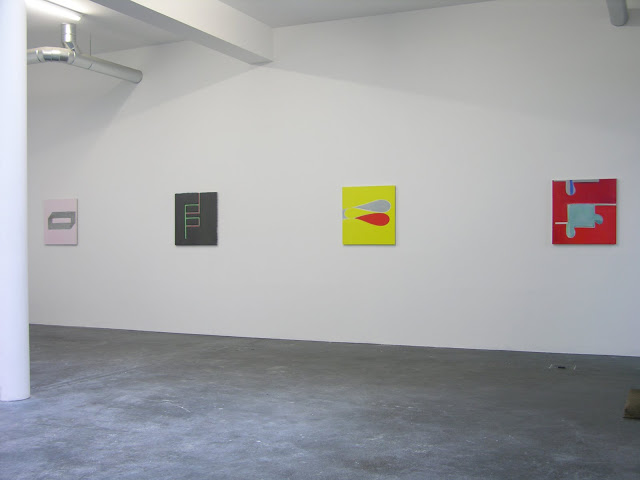 "Markus Winter, Berlin, 2007: Solo show ""To K from P with love"""
