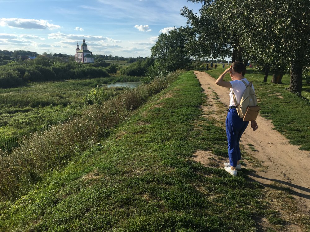 Aglaya in Suzdal