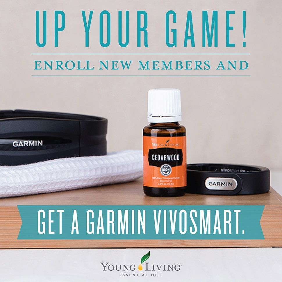 Young Living August Promotional, Garmin