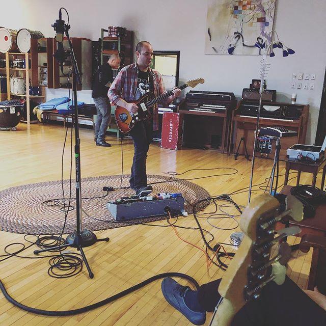 Back at Magpie Cage w J Robbins recording LP2! #album #albums #magpiecage