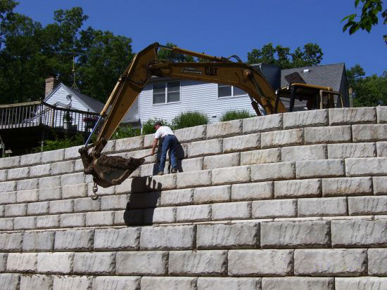 Dean's Excavating & Landscaping residential projects