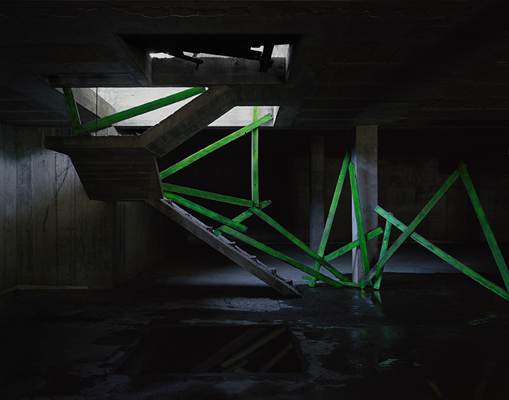 "© Nicolás Combarrofrom the series ""Hidden Architecture"""