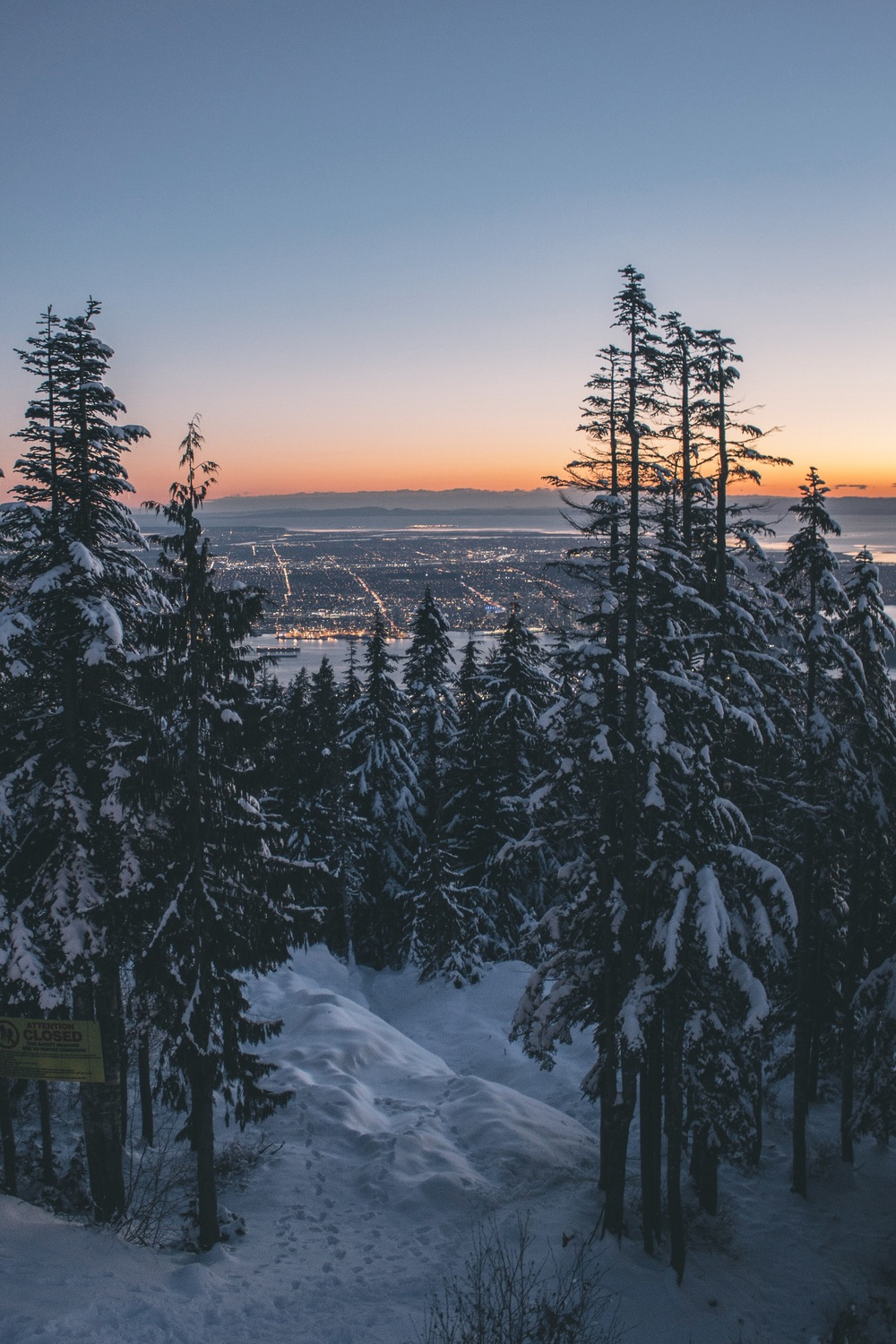 Grouse Mountain   | Overlooking downtown Vancouver