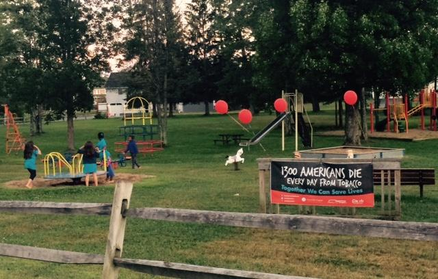 Smoke-Free Jenkins Park Event