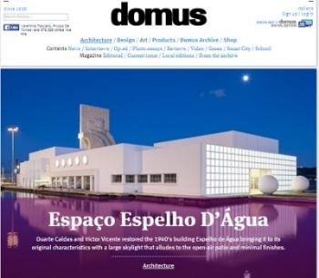 2016 - Domus, Architecture