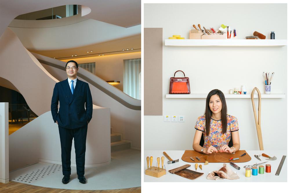 Cao Weiming & Roselyne Guiol, Hermes Shanghai