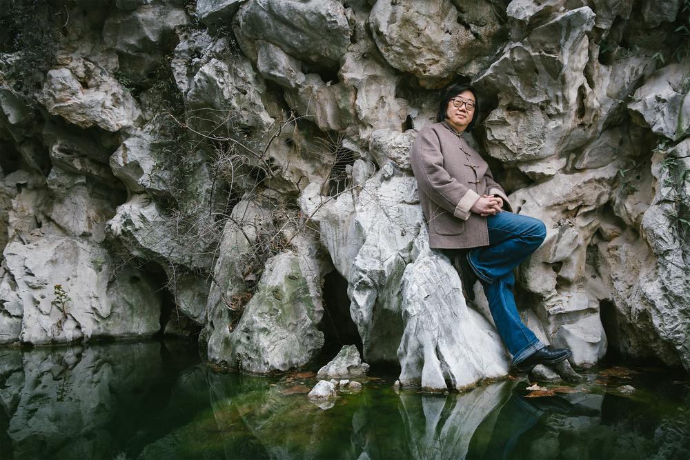 Writer Ye Fang