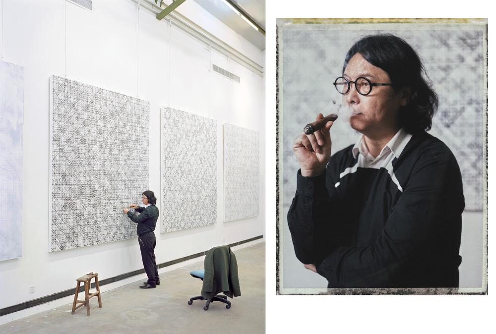 Artist Ding Yi